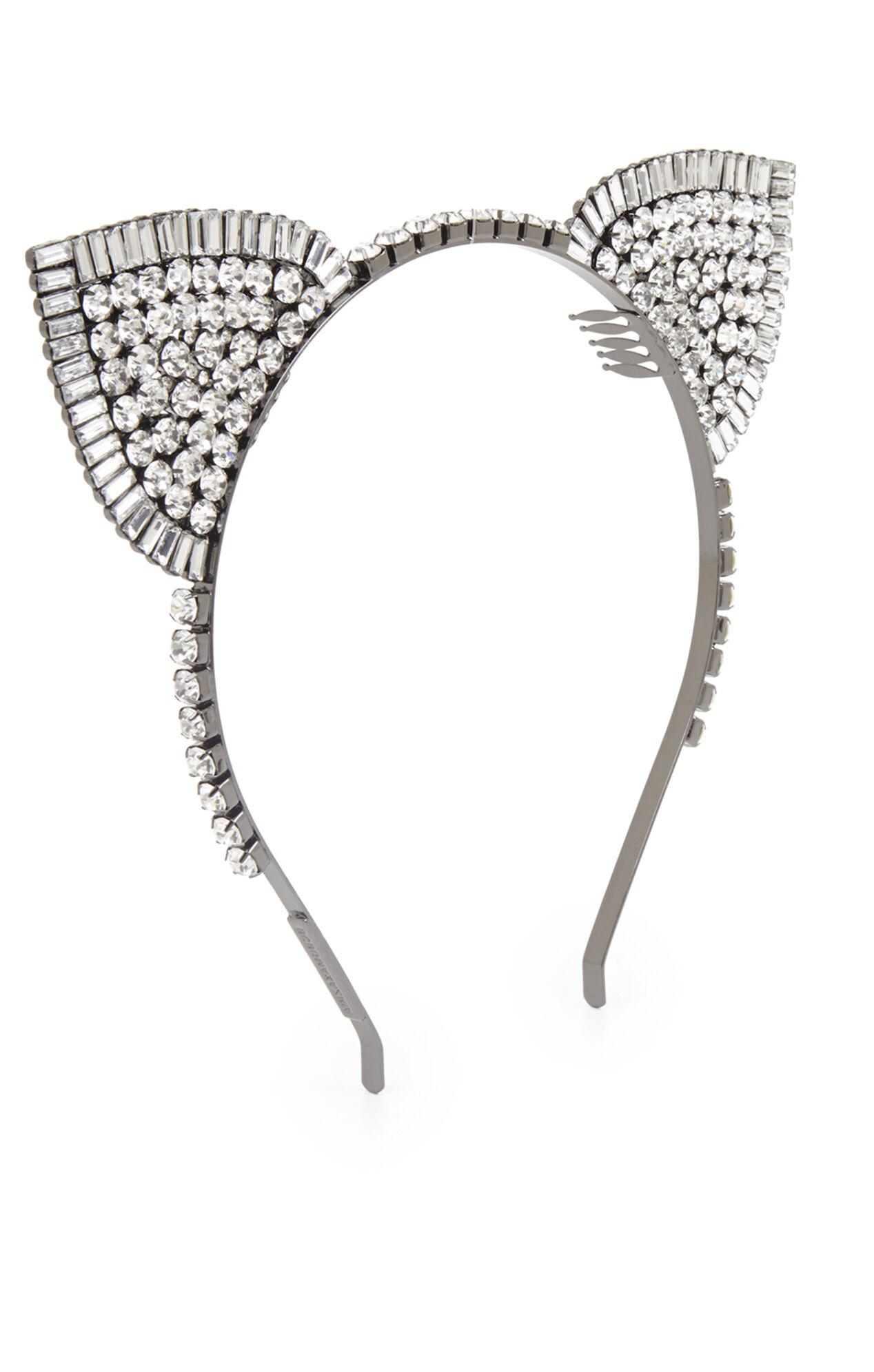 Stone-Detail Cat Ears Headband