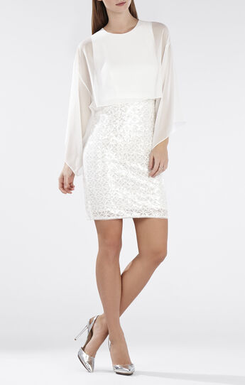 Jeanie Crop Top Sequined-Skirt Dress