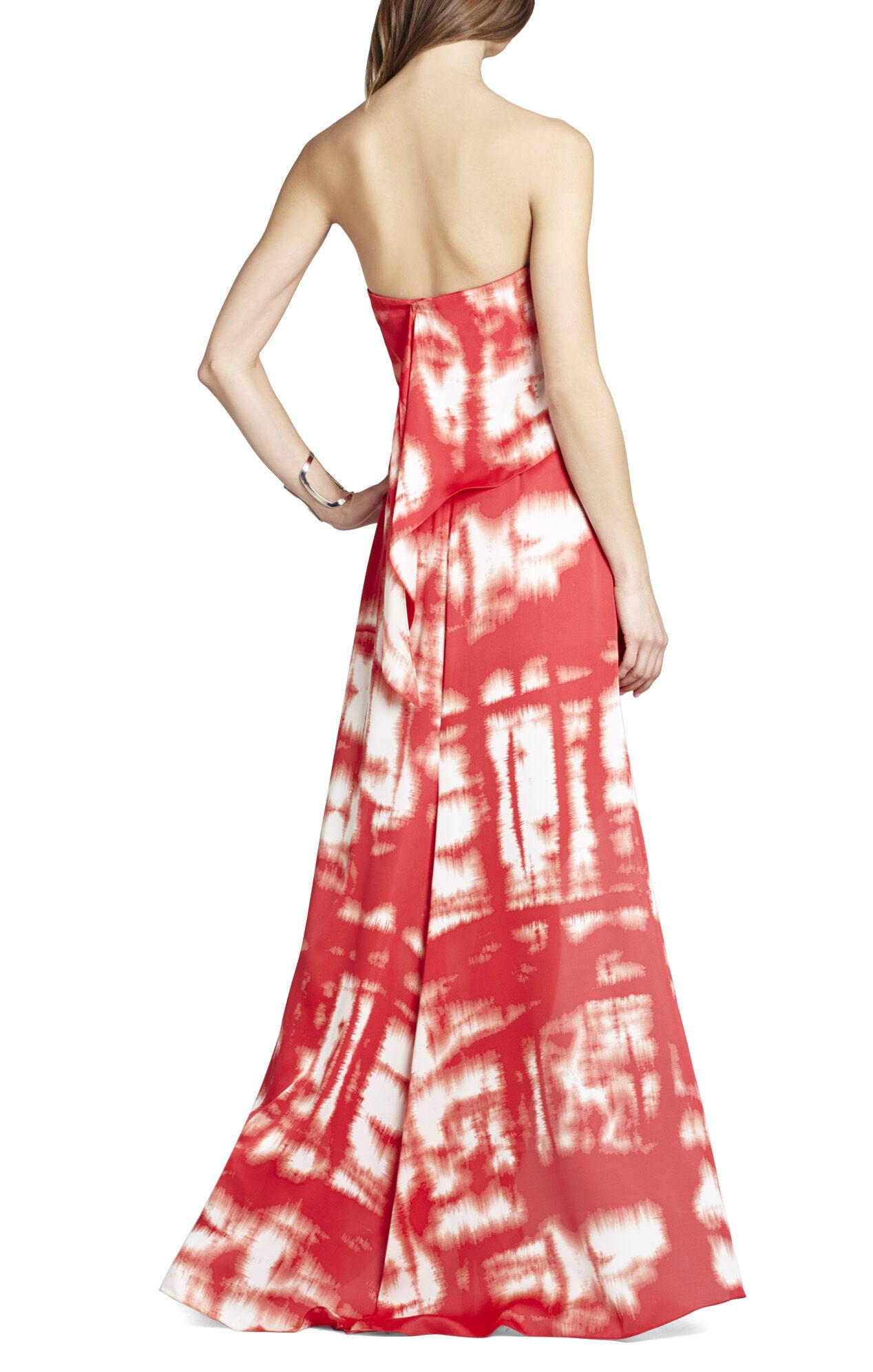 Daniella Strapless Drape Gown