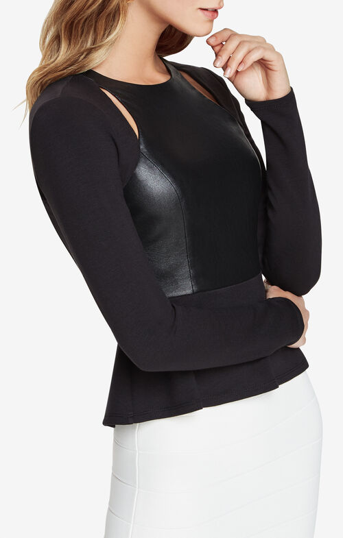 Bianka Cutout Peplum Top
