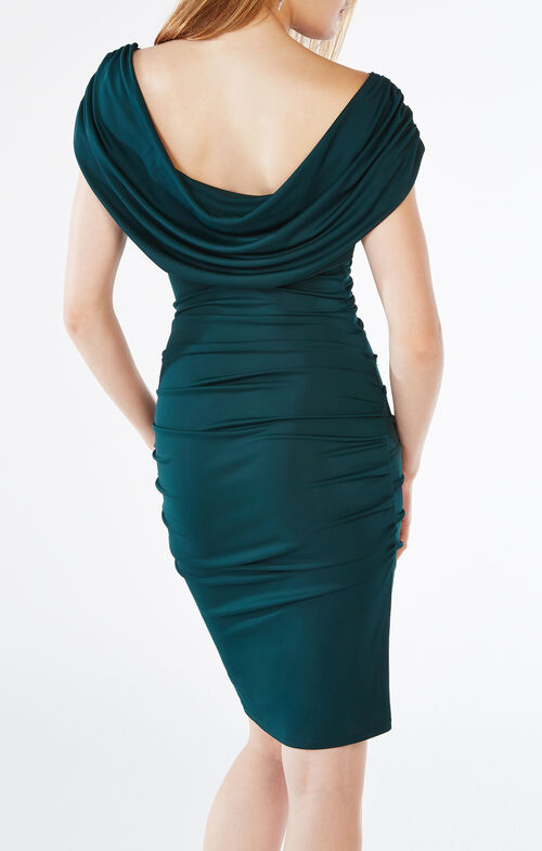 Kylia Cowl-Back Dress