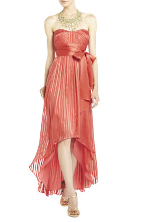 Alicia Silk Charmeuse Sash Gown