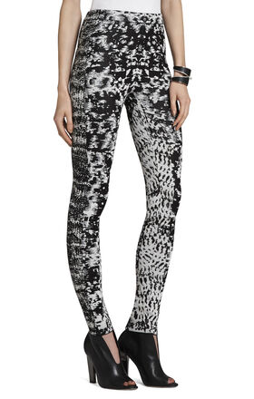 Mara Brush-Stroke Jacquard Legging