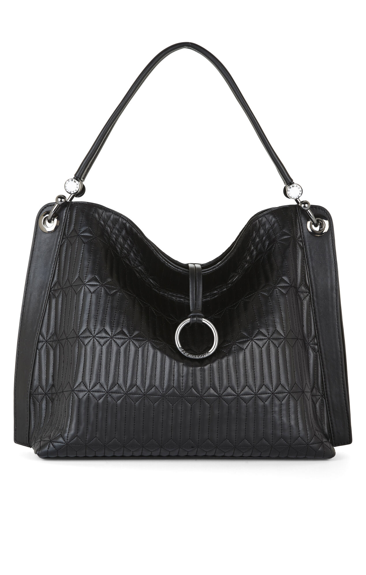 Amelie Quilted Signature Satchel