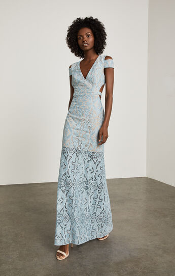 Ava Cutout Lace Gown