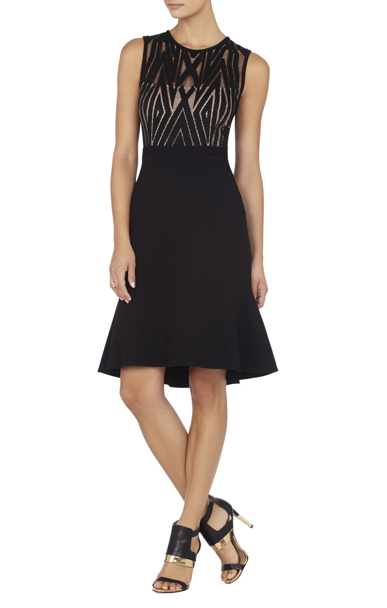 Jetts High-Heel Cutout Dress Sandal