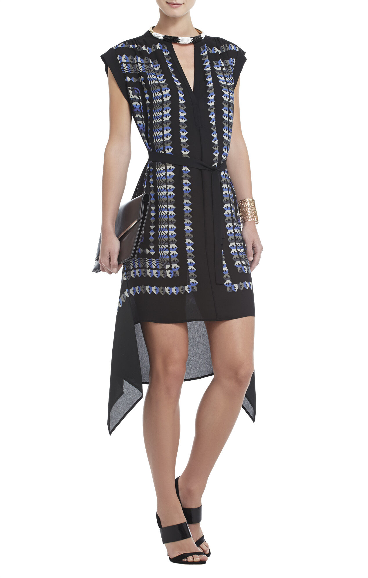Rayanne Printed Sleeveless Dress