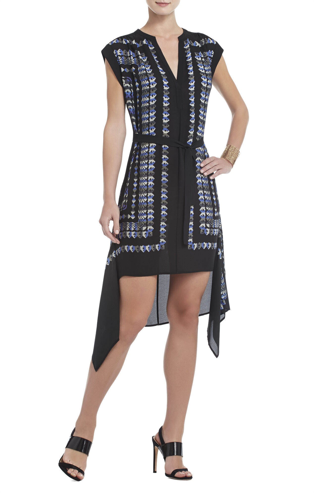 Rayanne Printed Sleeveless Dress