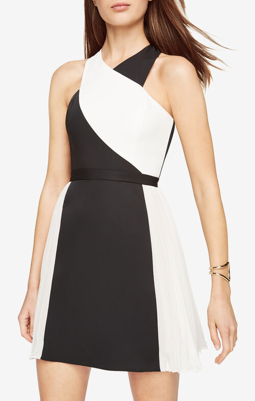Delilah Color-Blocked Dress