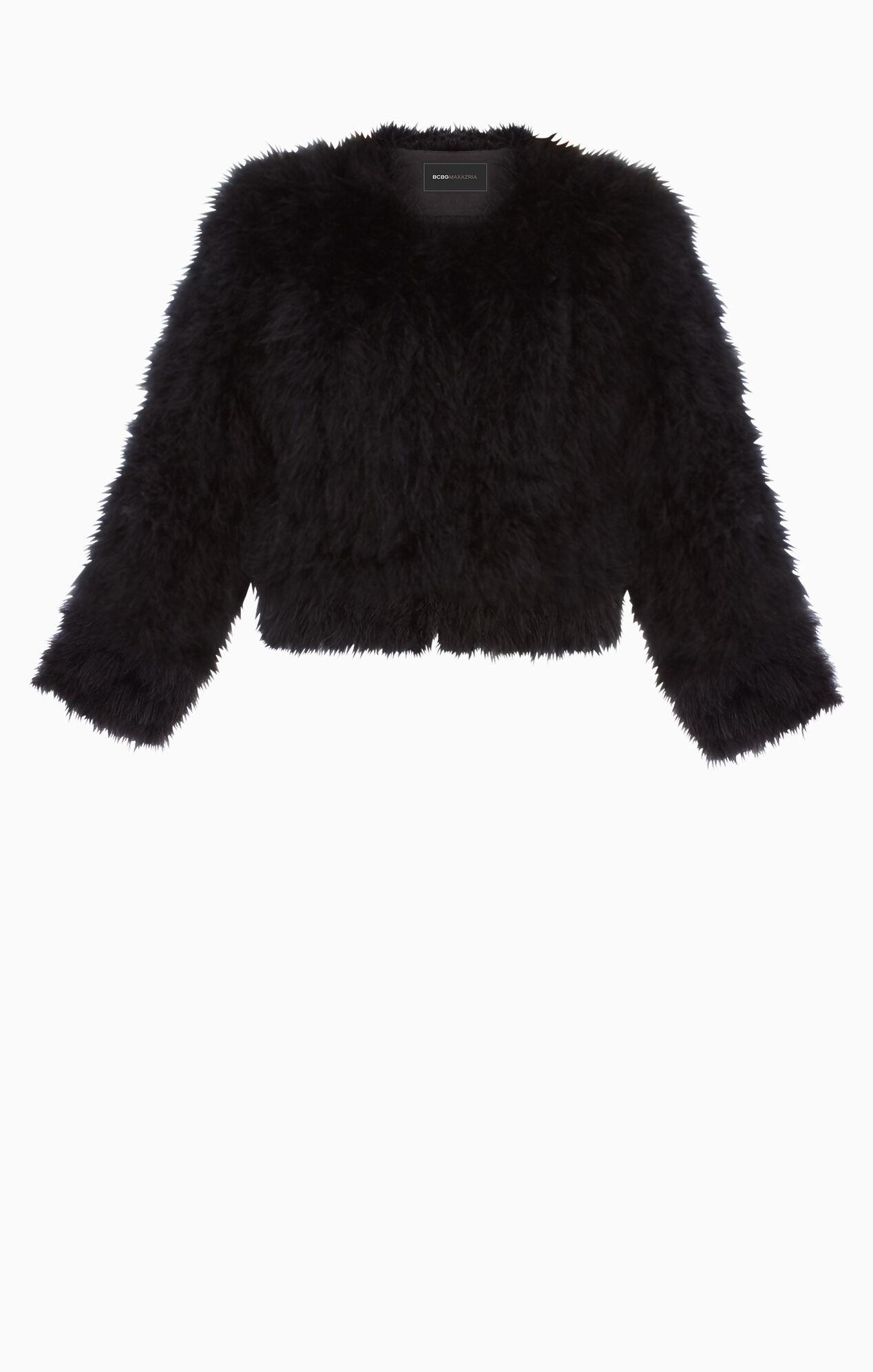 Margaret Marabou-Feather Jacket