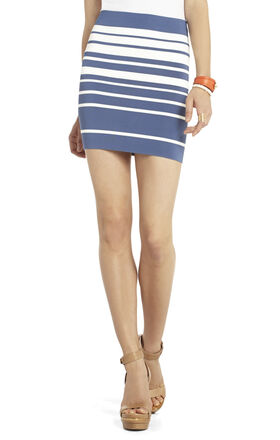 Simone Gradient Stripe Skirt
