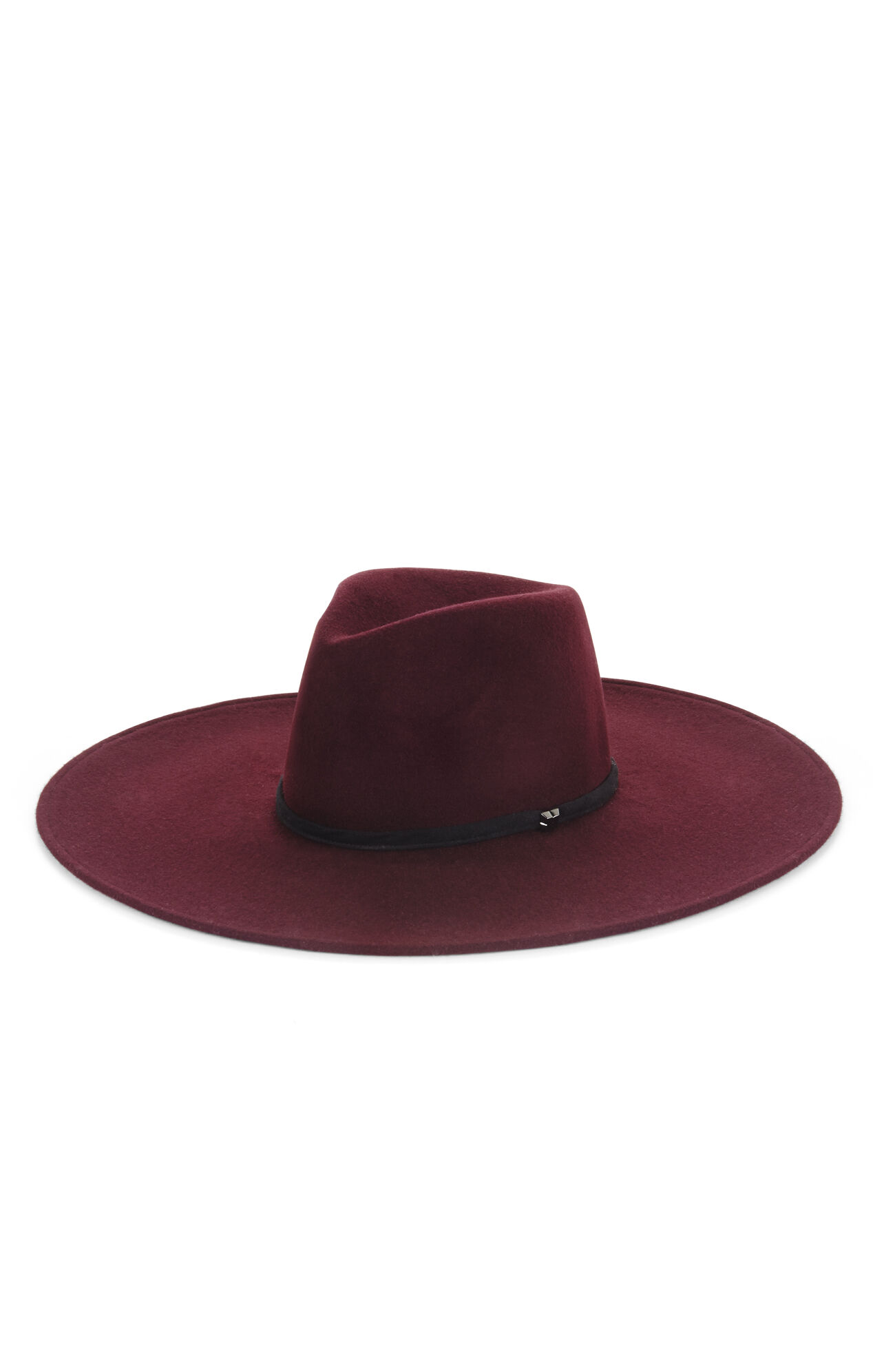 Butterfly Floppy Wool Hat