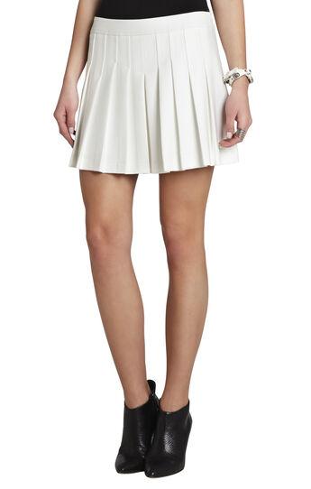 Shane Pleated Miniskirt