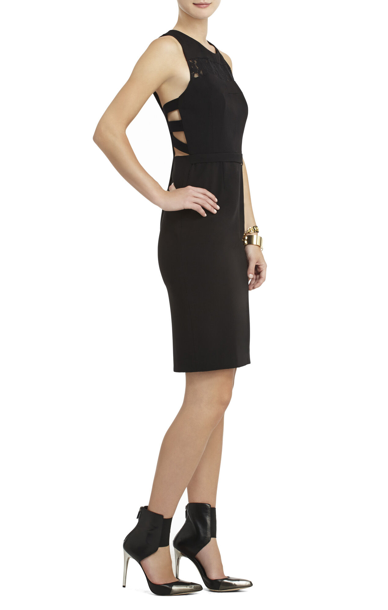 Violette Caged-Back Sheath Dress