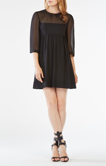Morgan Silk Chiffon Dress