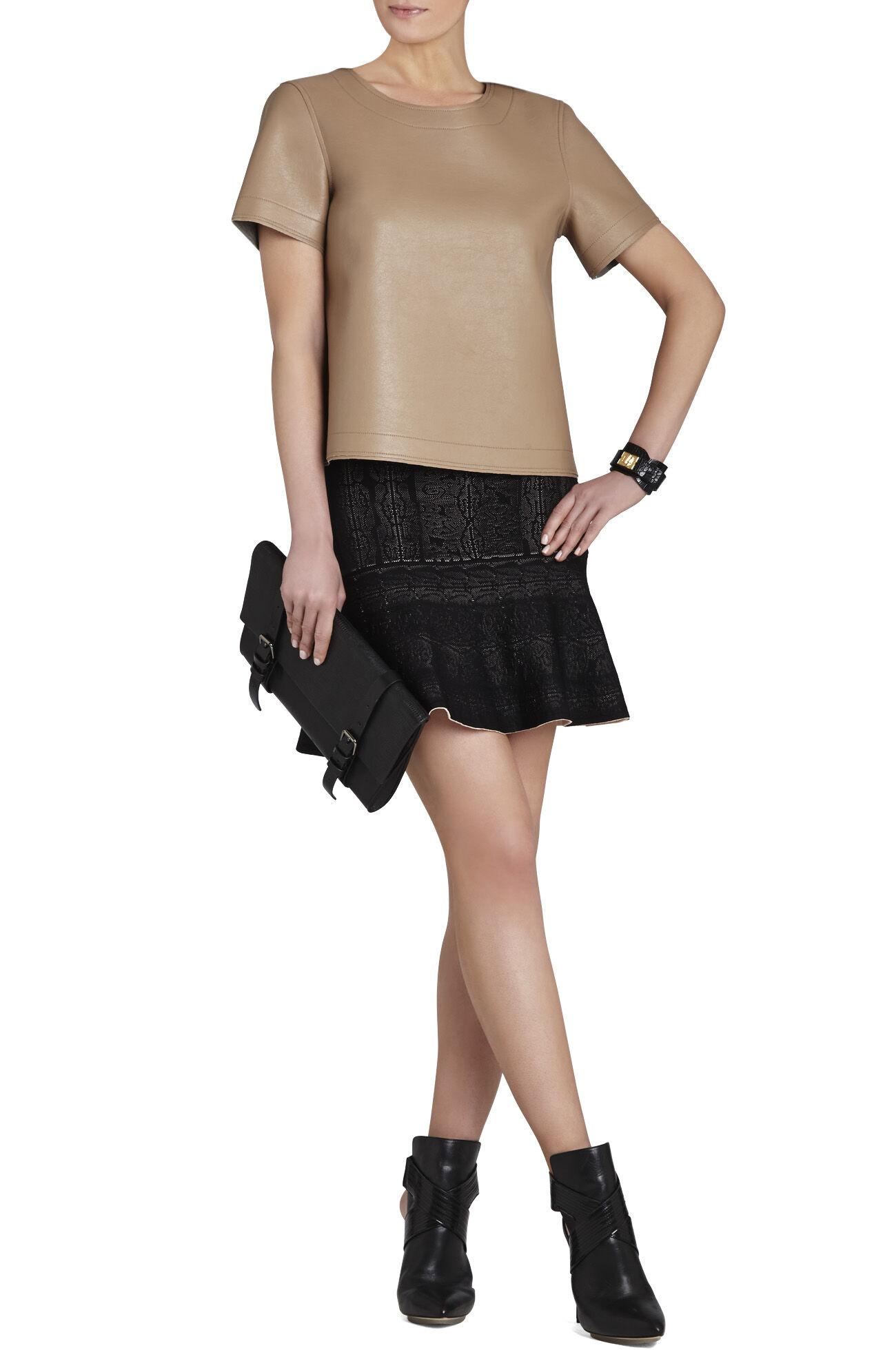 Beata Short-Sleeve Oversized Top