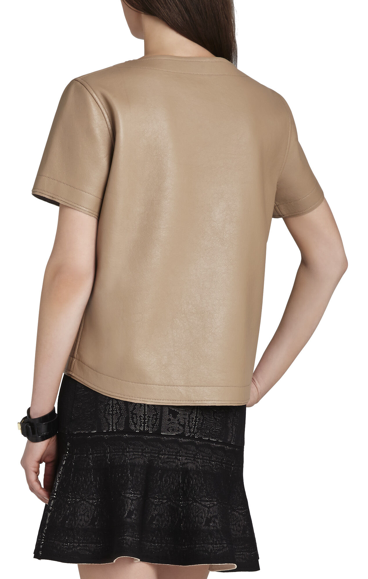 Beata Short-Sleeve Oversized Top