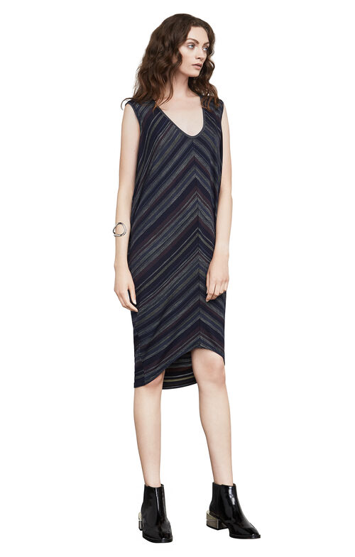 Kerstin Jacquard Tunic Dress