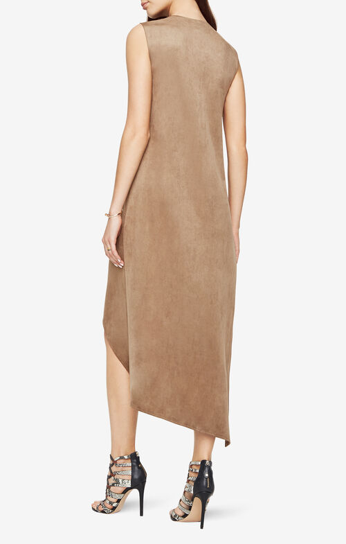 Tara Faux-Suede Dress