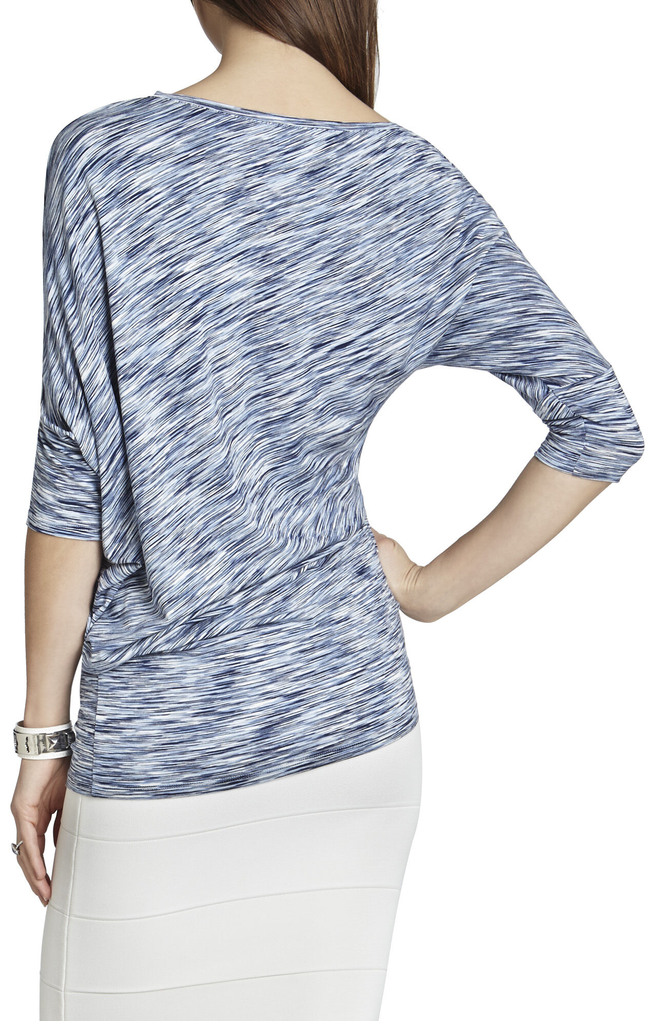 Jonesy Boatneck Loose-Draped Top