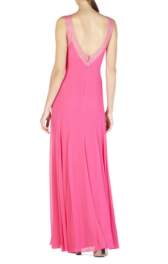 Mariena Embellished Plunging V-Neck Gown