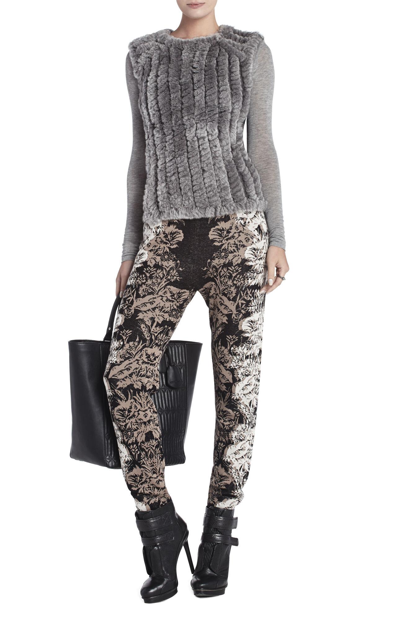 Neem Sleeveless Fur Pullover