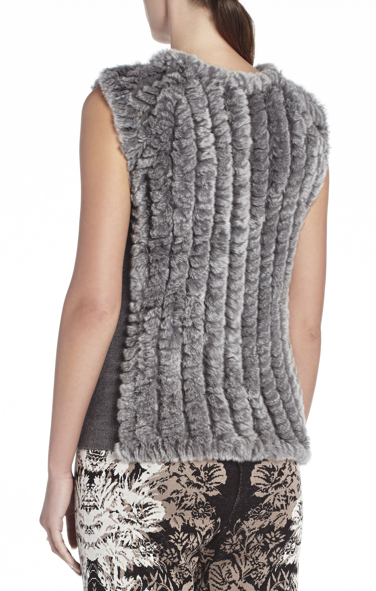Neem Sleeveless Fur Pullover