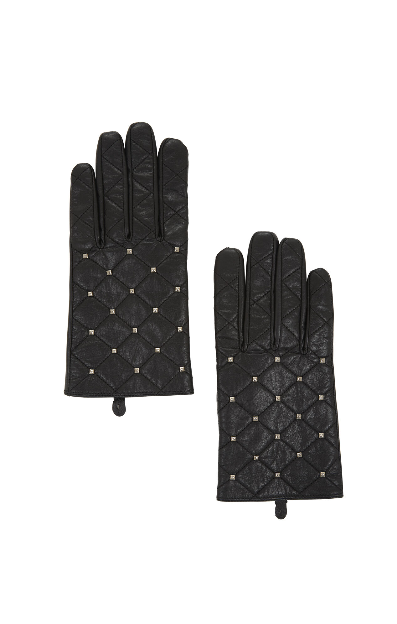 Quilted Mini Stud Gloves