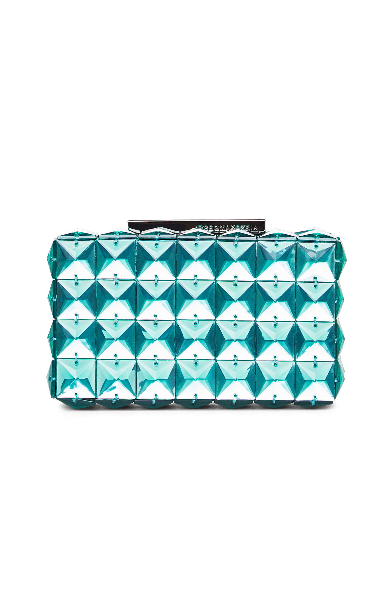 Lulu Square Stone Clutch