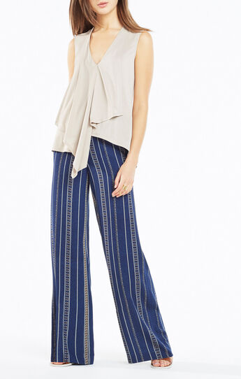 Cyprien Asymmetrical High-Low Top