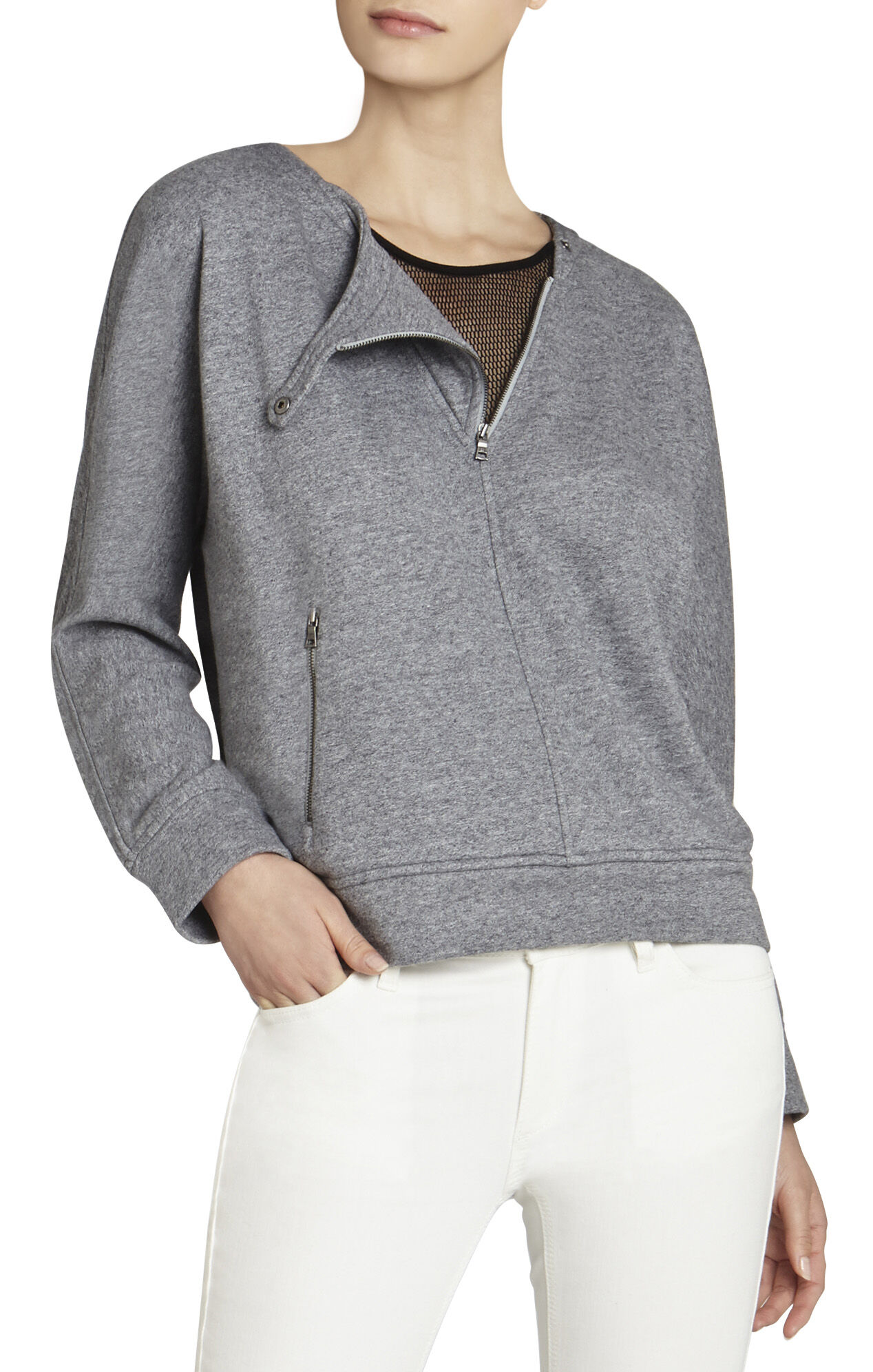 Tallulah Zipper-Detail Sweatshirt