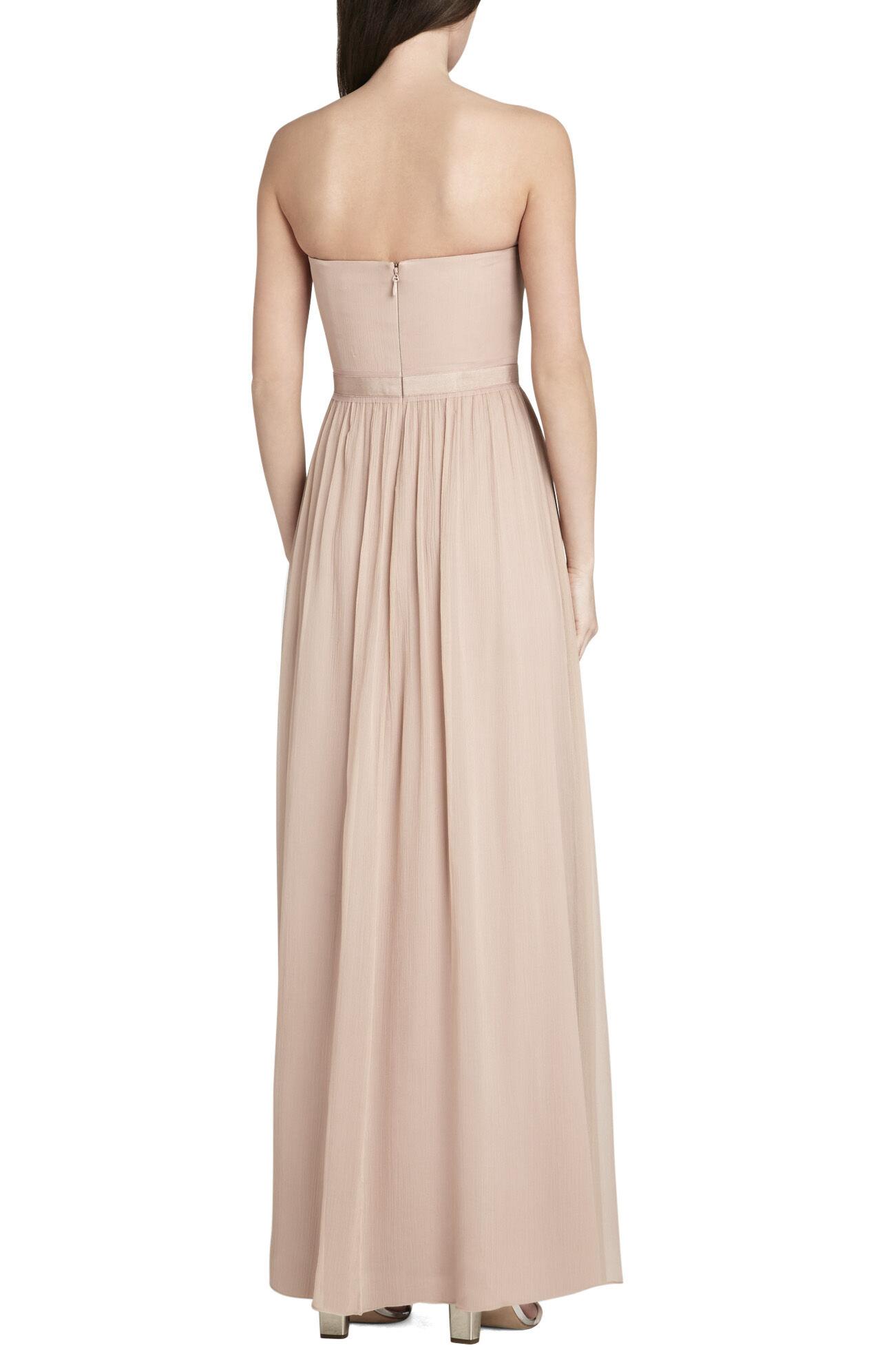 Amber Cascade Strapless Dress