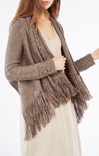 Novia Fringe Cardi Wrap