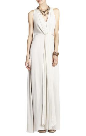 Mara Long-Length Halter Dress