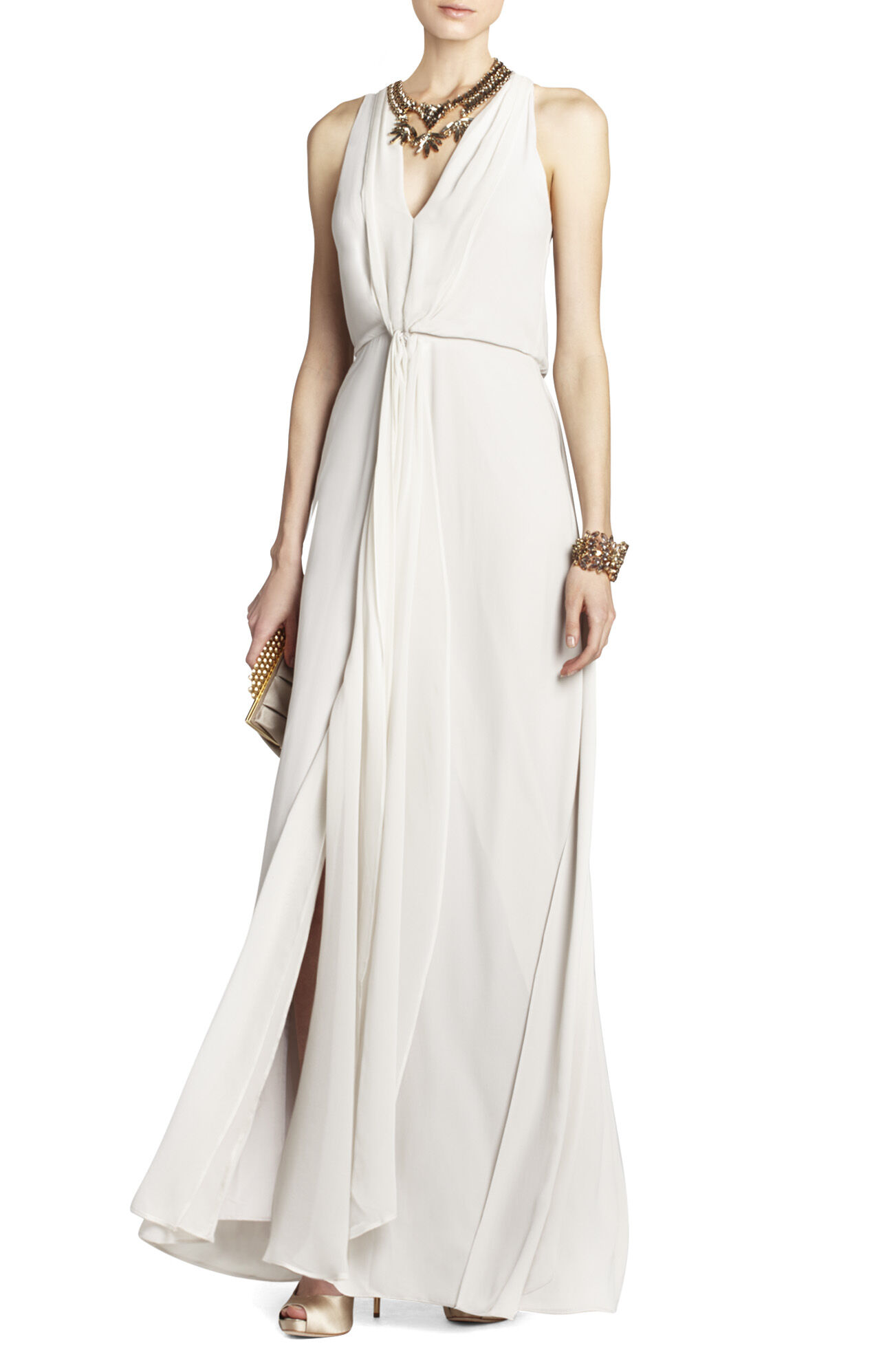 Mara Long-Length Halter Dress