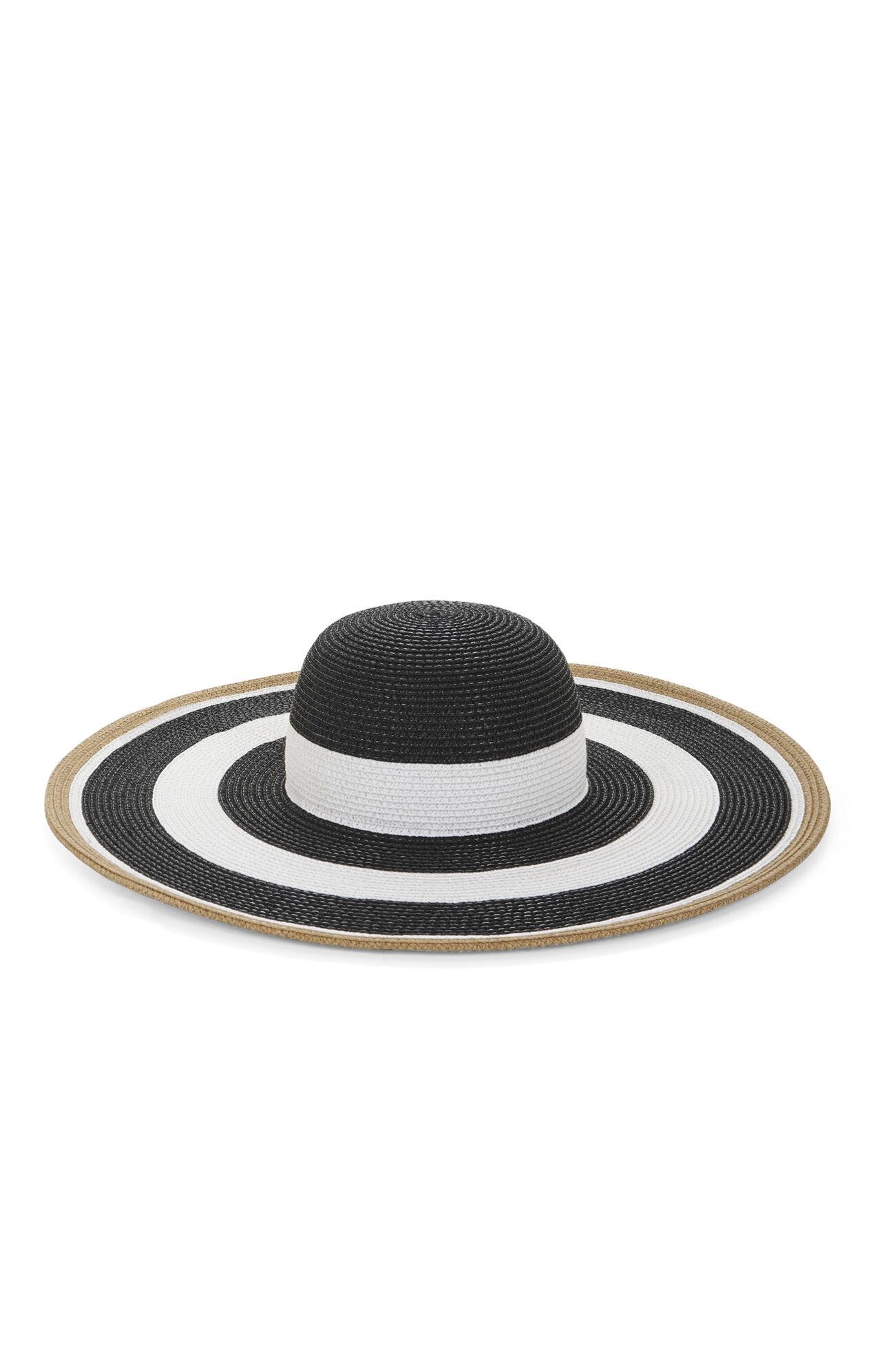 Bold Stripe Floppy Hat