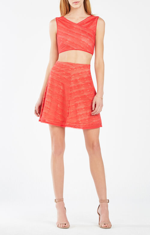 Ivanna Lace Two-Piece Dress