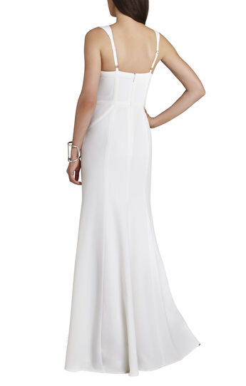 Alisha Crisscross-Detail Gown