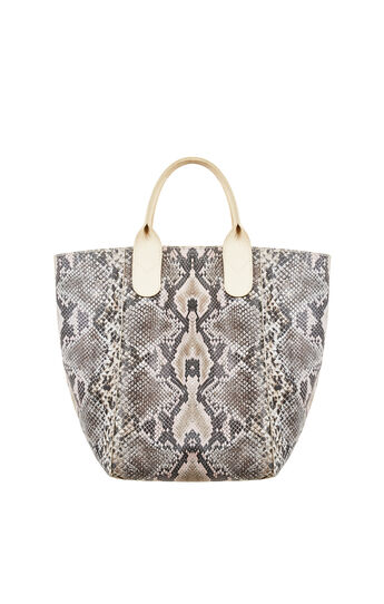 Lady Reversible Leather Tote