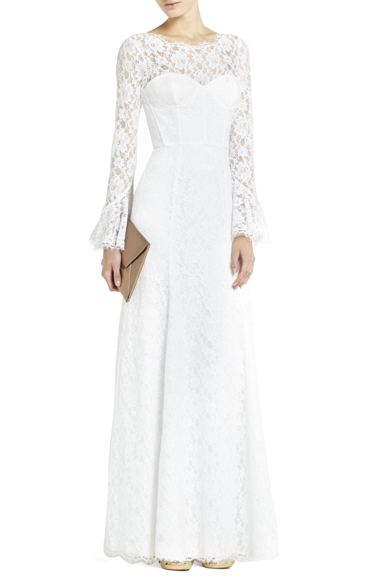 Salina Built-In Corset Gown