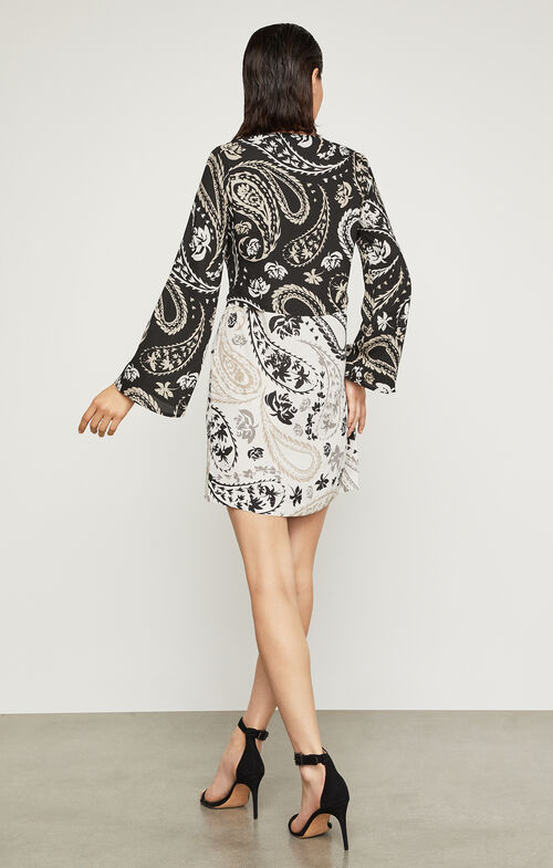 Taylor Paisley Print Tunic Dress
