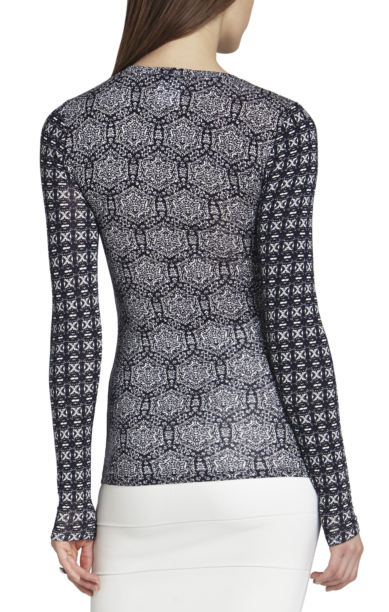 Agda Long-Sleeve Top