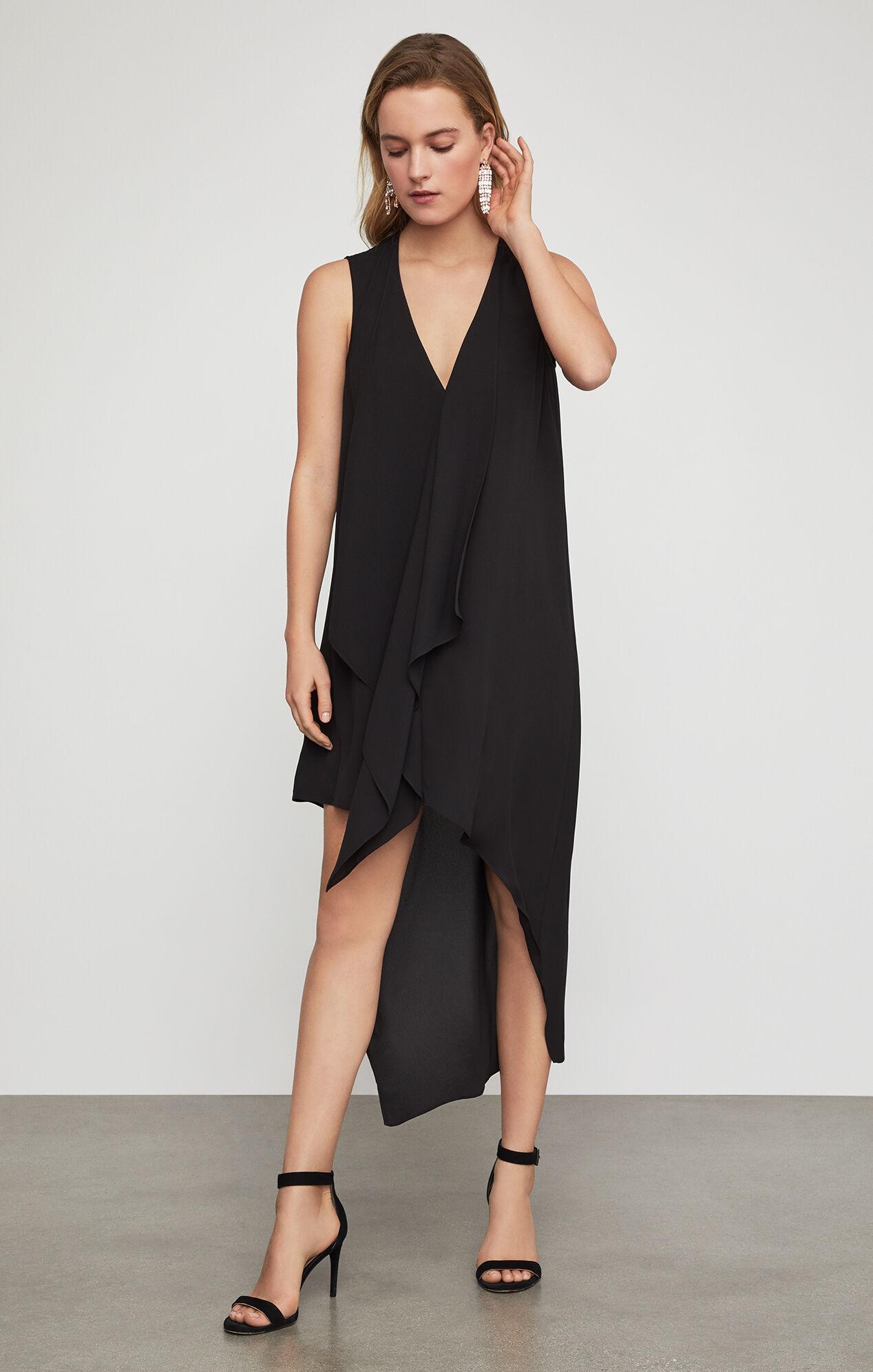 Tara Cascade-Ruffle Dress