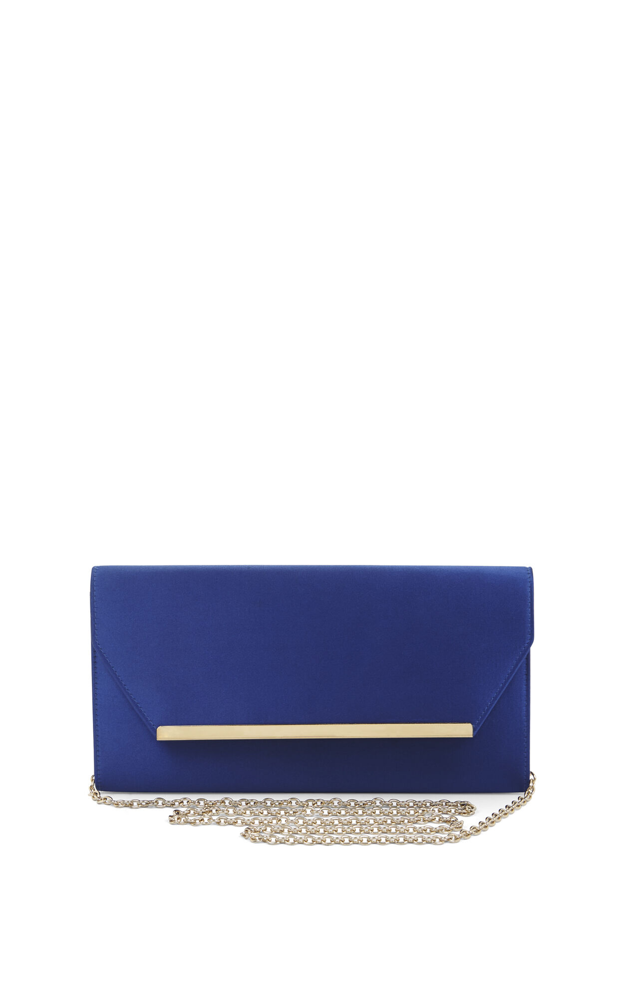 Helen Satin Envelope Clutch