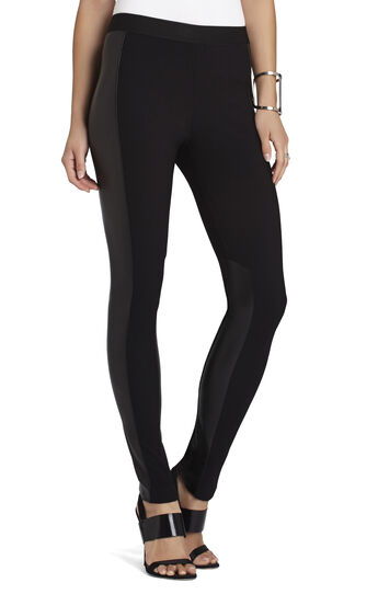 Caragh Faux-Leather Combo Legging