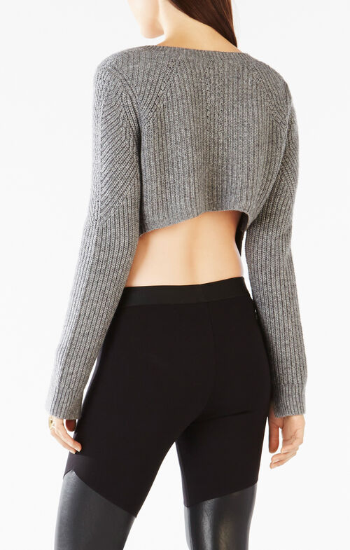 Rudy Open-Back Sweater
