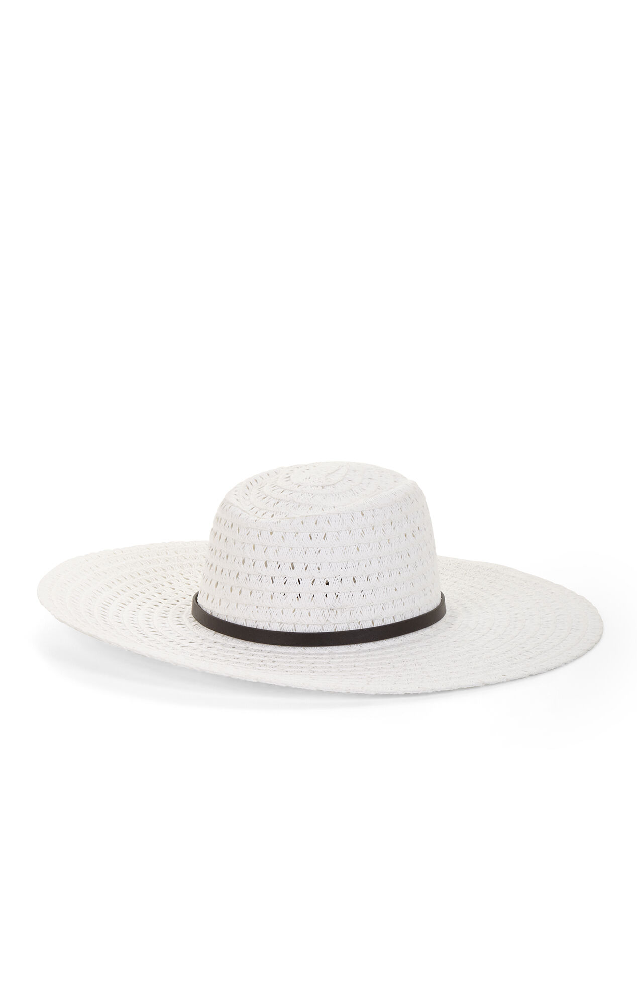 Vintage Woven Panama Hat