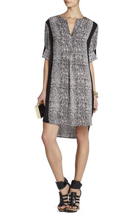 Paige Contrast-Trim Dress