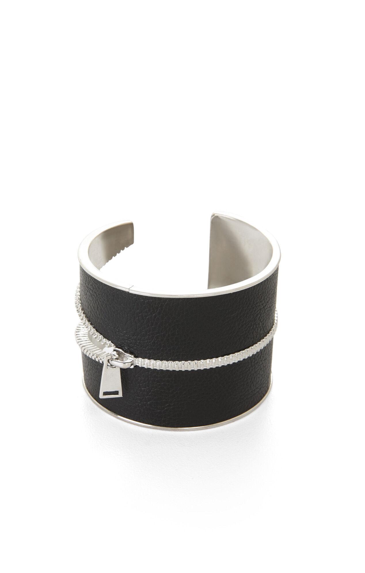 Inlay Zipper Cuff