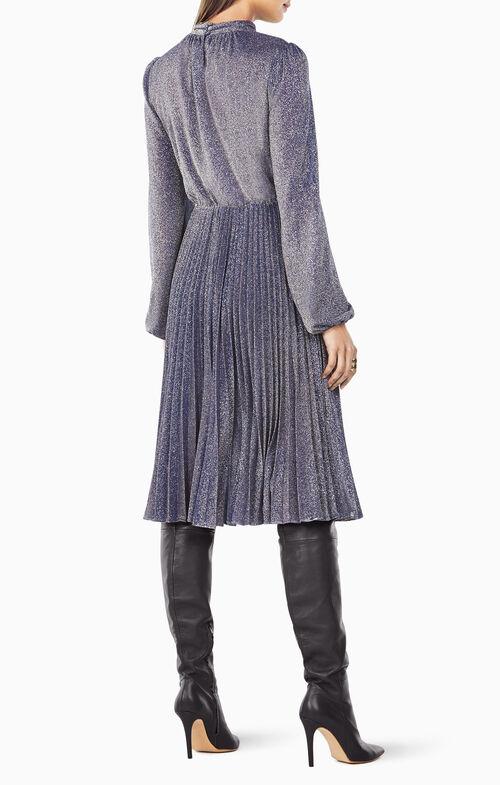 Coleen Metallic Jersey Dress